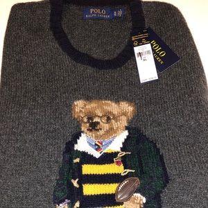 Polo Bear wool Sweater XL